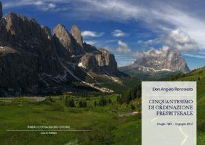 thumbnail of Don Angelo Roncolato – Cinquantesimo di Ordinazione Presbiterale