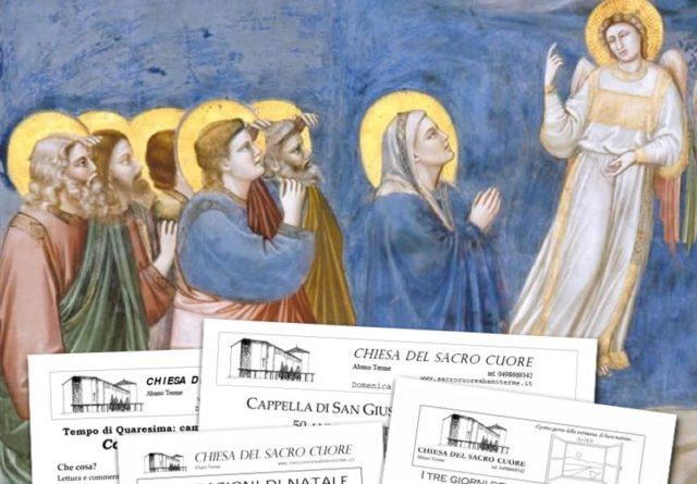 Bollettino parrocchiale 1° e 2 novembre