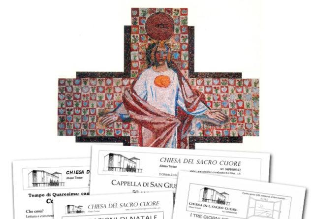 """Bollettino parrocchiale """"Festa annuale del Sacro Cuore 2016"""""""