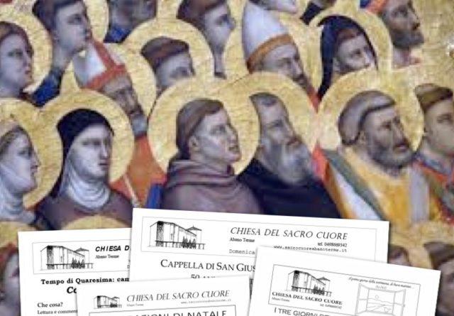 """Bollettino parrocchiale """"Tutti i Santi"""" 2016"""