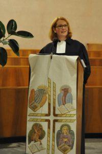 Ulrike Jourdan, pastora metodista