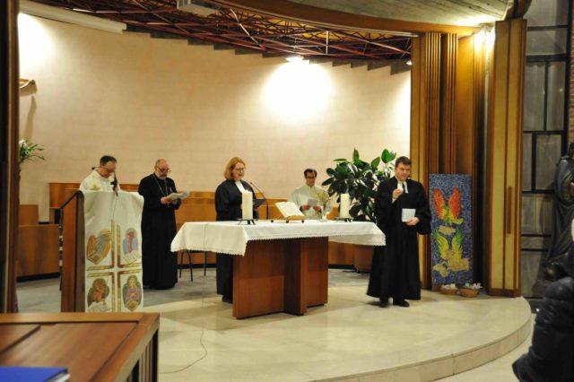 Le foto della celebrazione ecumenica