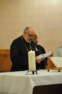 p. Liviu Verzea, parroco ortodosso rumeno
