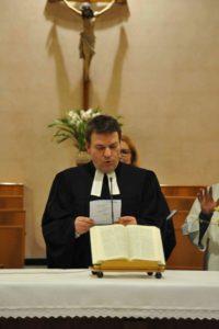 Bernd Prigge, pastore luterano