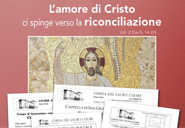 """Bollettino parrocchiale """"Unità Cristiani 2017"""""""