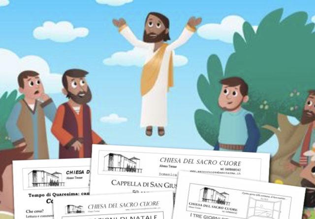 Bollettino parrocchiale – Ascensione 2017