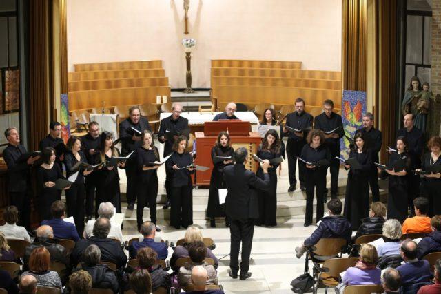 """Le immagini del Concerto del Gruppo Vocale """"Caterina Ensemble""""- Bach e Monteverdi dialogo fra Riforma e Controriforma"""