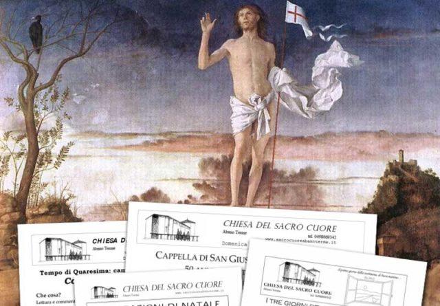 Bollettino parrocchiale  – Pasqua 2020