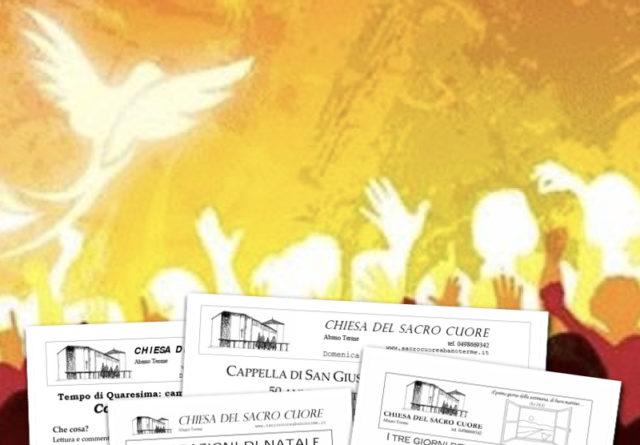 Bollettino parrocchiale – Pentecoste 2018