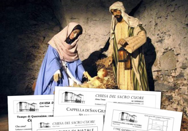 Bollettino parrocchiale – Operazione Natale 2018
