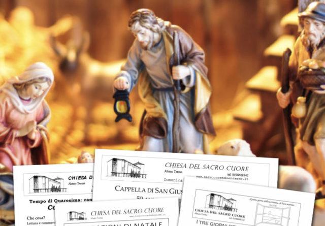 Bollettino parrocchiale – Avvento II 2019